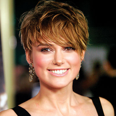 Let Fringe Hair Art bring extra glamour to your short haircut. Keira ...